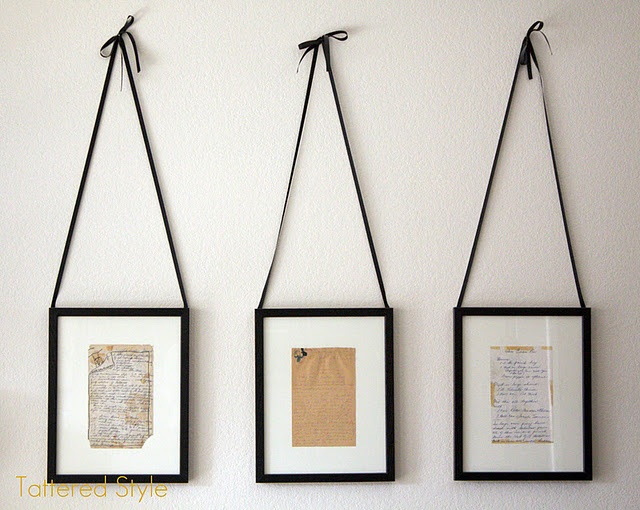 treasured recipe kitchen display...great idea for my grandmother and mothers handwritten treasures