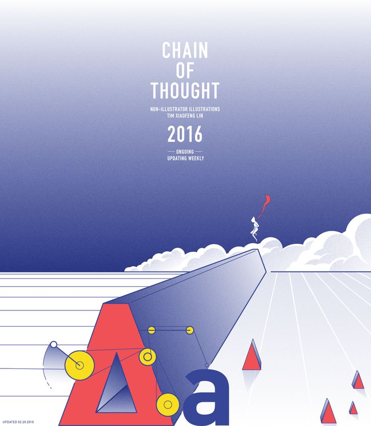 Chain of Thought (Ongoing) on Behance