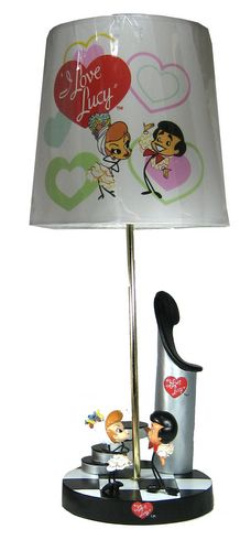 """i love lucy bobbleheads 