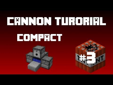Minecraft - TNT Cannon (Tutorial) Smallest Ever Cannon! - YouTube