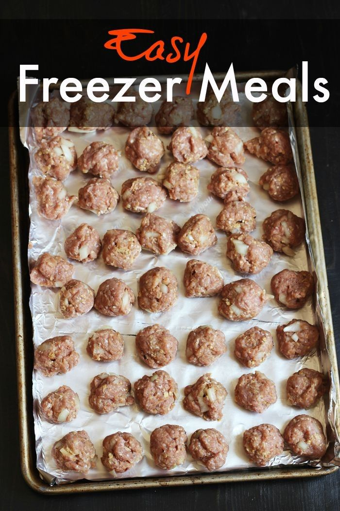 Want to fill your freezer the quick and easy way? Check out these easy meals to freeze and download the free cooking plan.  It's quick, easy, and this freezer cooking plan is adaptable for Gluten-Free!  Get the cooking plan: