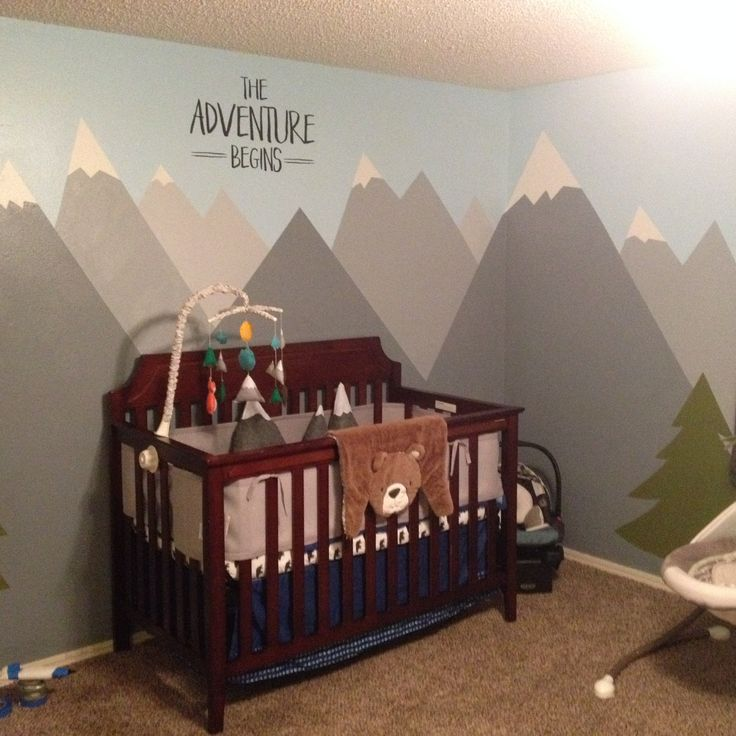 Baby Leo's Room A mix of Adventure and Woodland