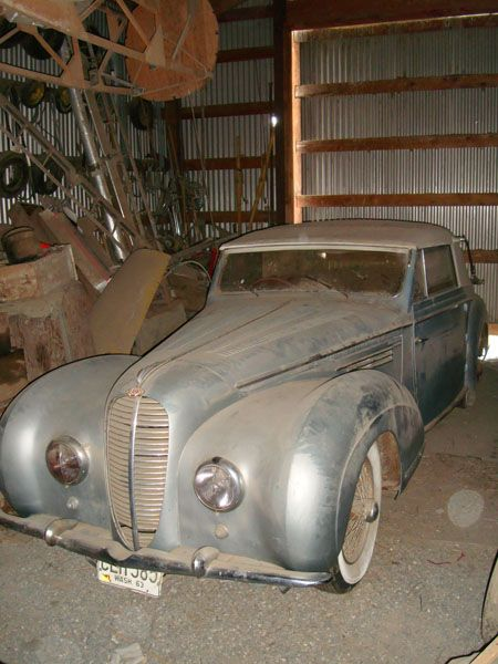Dusty Delahaye A Barn Find Dream