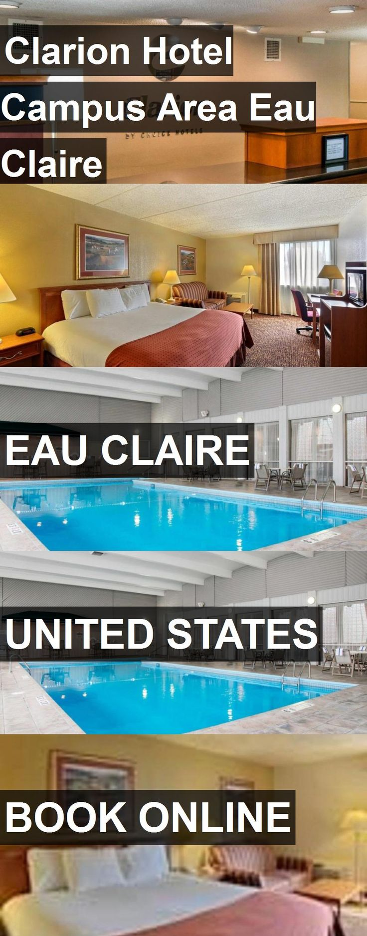 Clarion Hotel Campus Area Eau Claire in Eau Claire, United States. For more information, photos, reviews and best prices please follow the link. #UnitedStates #EauClaire #travel #vacation #hotel