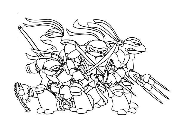 ninja coloring pages for teens - photo#15