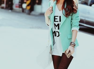 The mint jacket ! Im buying this one soon ! :D
