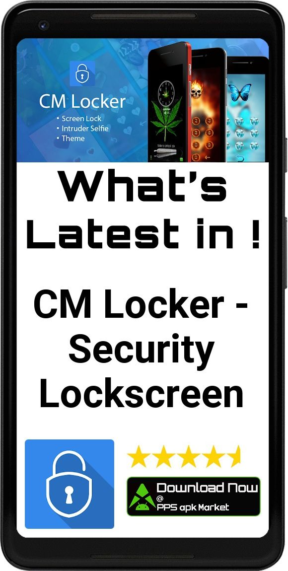 cm locker apk new version