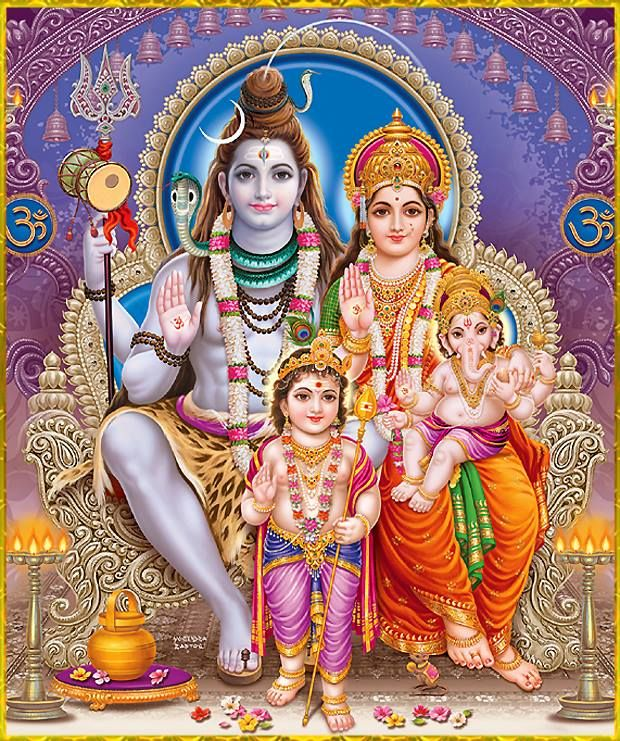 shiv parivar (shiva family)