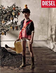 Diesel kids, adv campaign S/S 2014. Photographer Achim Lippoth, stylist Catrin Hansmerten. www.diesel.com/diesel-kid www.lippoth.com www.ligawest.com/artist.php?catid=2&id=11&pid=59&lang=de