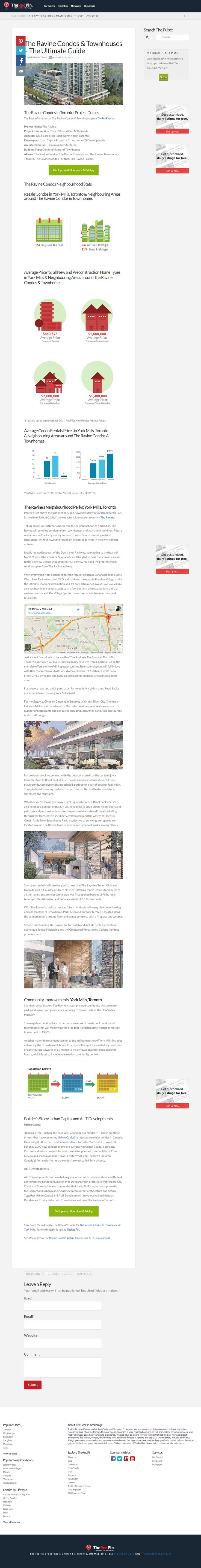 The Ravine Condos & Townhouses – The Ultimate Guide