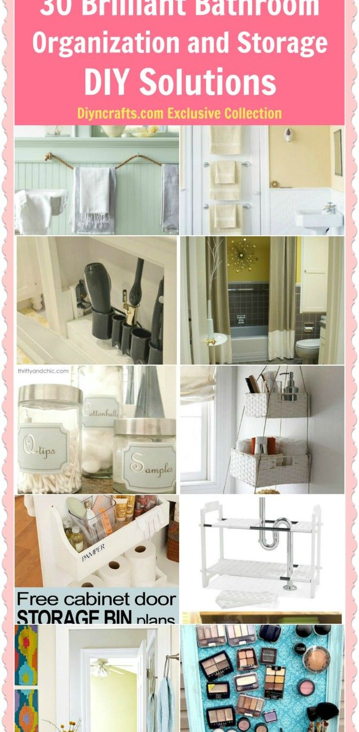 17 Best Images About Bathroom Organization On Pinterest Contemporary Bathrooms Bathroom
