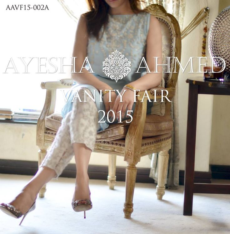 Ayesha Ahmed Vanity Fair Summer Embroidery Eid Dresses 2015 Collection (3)