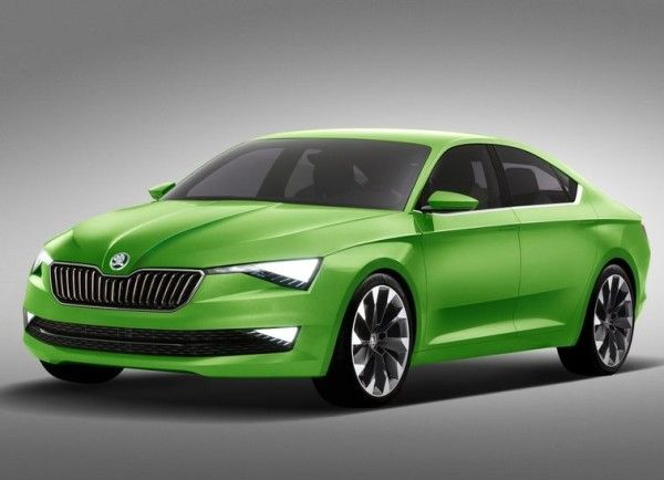 2014 Skoda Vision C Coupe Series Image