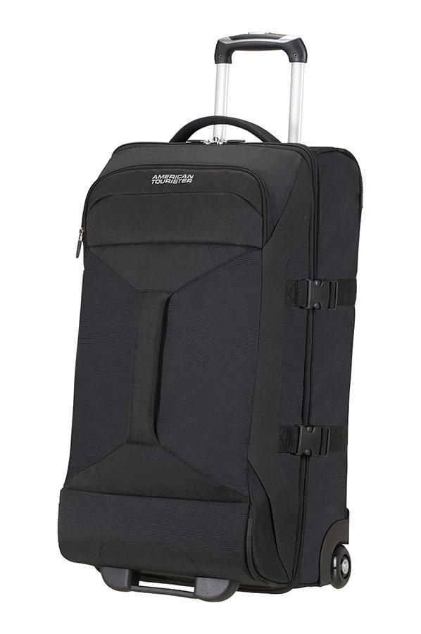 AMERICAN TOURISTER Road Quest - 2 Compartments Wheeled Duffle 55/20 Sac de voyage, 55 cm, 40 liters, Gris (Grey/turquoise)