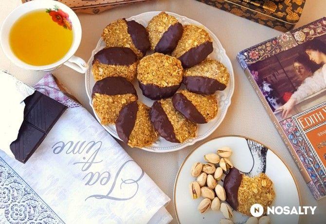 Csokis-pisztáciás kekszek