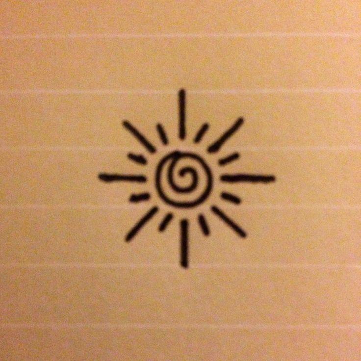 small small sun tattoo wrist small tattoos sun simple sun and moon ...