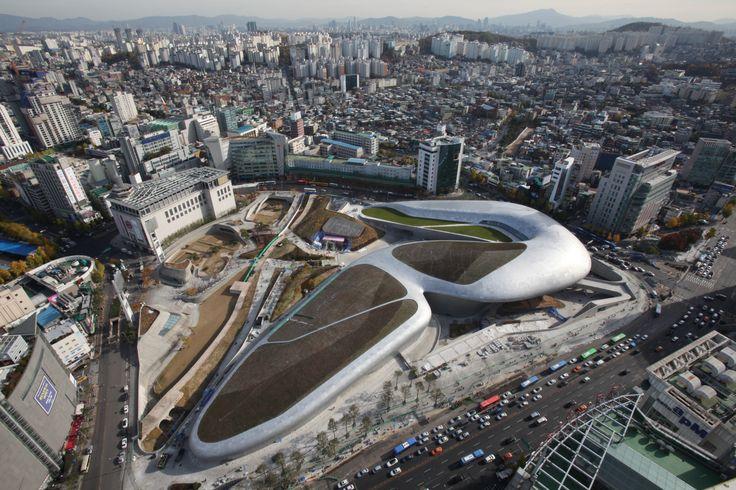 #DDP #Dongdaemun #Seoul #Zaha Hadid #Dongdaemun design plaza&Park