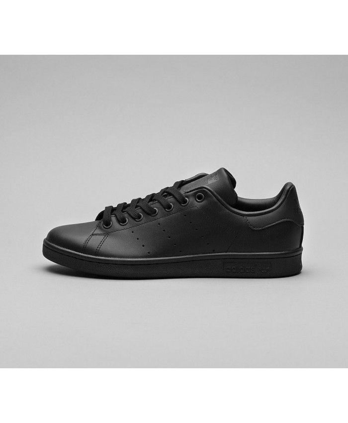 Cheap Adidas Originals Stan Smith Trainer Black Sale UK