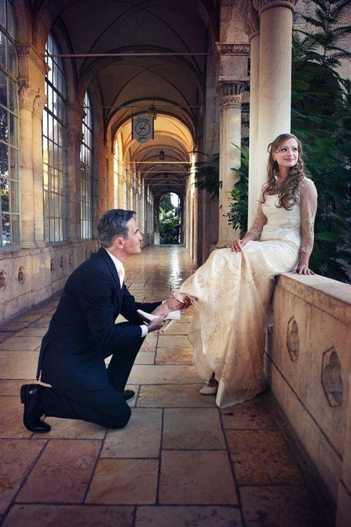 Cinderella bride - YES!
