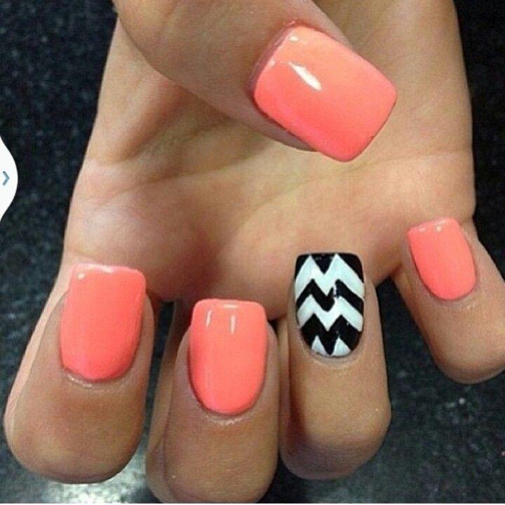 Summertime nails