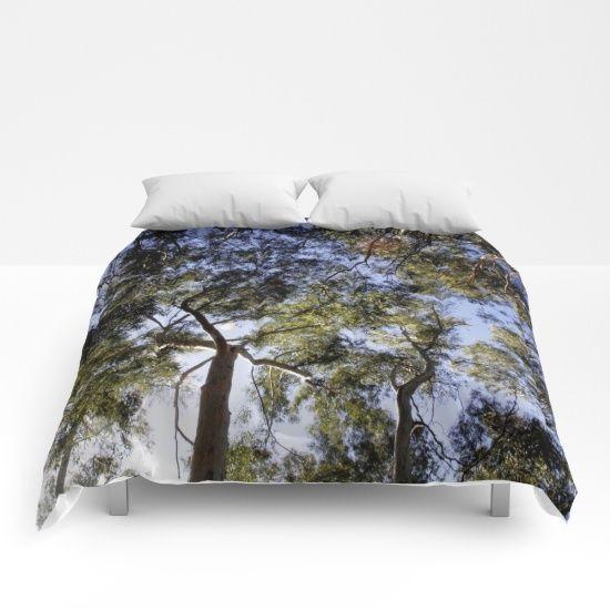 Eucalyptus Tree Canopy Comforters #Eucalyptus #Tree #Canopy #Comforters by #taiche | Society6 https://society6.com/product/eucalyptus-tree-canopy_comforter#s6-6578140p57a200v701