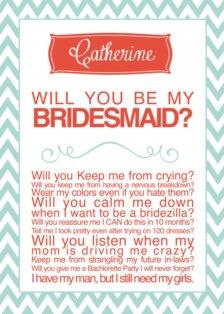 Bridesmaid Invitations - Wedding Trends - Etsy