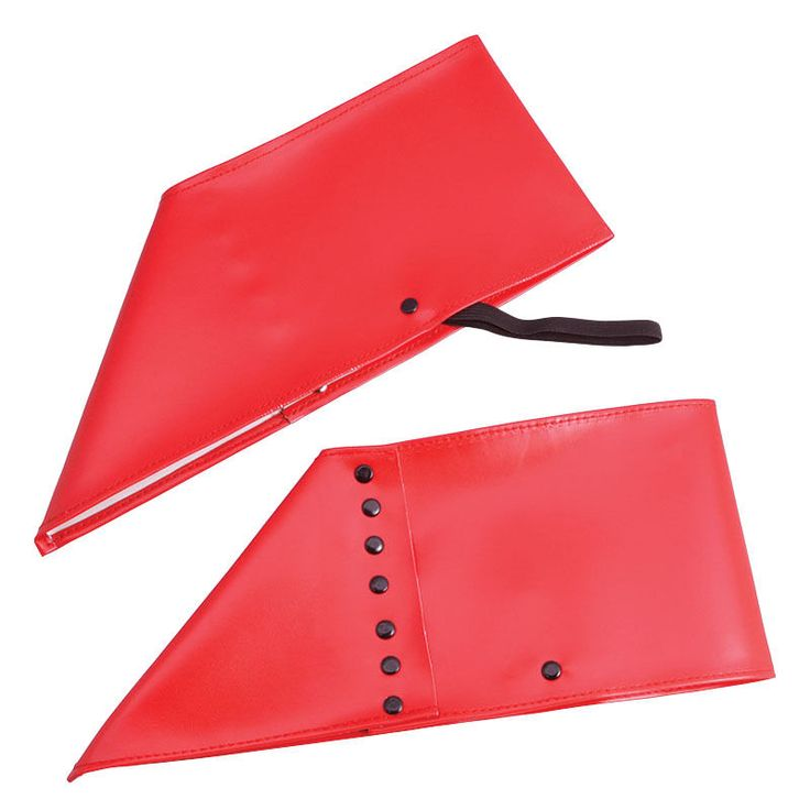 RED GANGSTER SPATS SHOE COVERS FANCY DRESS ACCESSORY