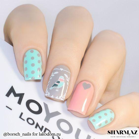Si te encanta decorar tus uñas con colores que no sean muy llamativos, aquí te compartimos estas ideas de uñas color pastel.
