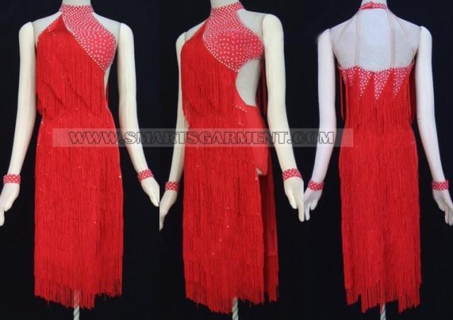 red latin dance gown: Latin Costumes, Latin Dresses, Dance Dresses, Latin Competition, Dancedressshop Com, Red Latin, Latin Dance, Dance Gowns