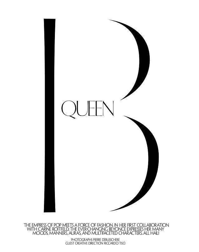 Beyoncé CR Fashion Book #5 By Pierre Debusschere September ...