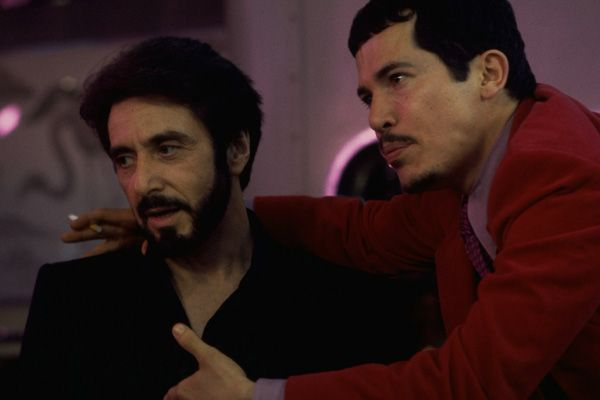 """Carlito's Way - Carlito Brigante meets Benny Blanco from the Bronx. """"Cookie, get that stupid look off your face! Do you know who this man is? He's the JP Morgan of the smack business!"""""""