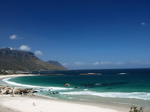 Camps Bay, Cape Town. One of the most stunning places I've ever been in my life.