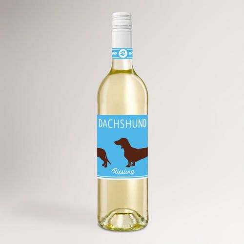 One of my favorite discoveries at WorldMarket.com: Dachshund Riesling