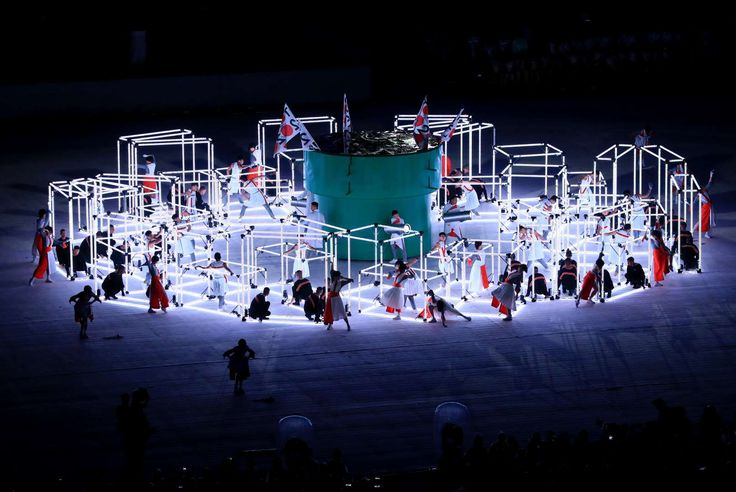 Performers for Tokyo 2020 take part in the ceremony.     -   2016 Rio Olympics closing ceremony:  August 21, 2016