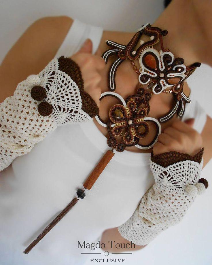 "88 Likes, 3 Comments - Marija Markovic (@magdo.touch) on Instagram: ""#fashion #instafashion #soutache #statement #necklace #oversized #choker #perfect #elegant #modern…"""