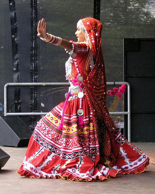 Indian Gypsy Dancer by Basil & Tracy, via Flickr
