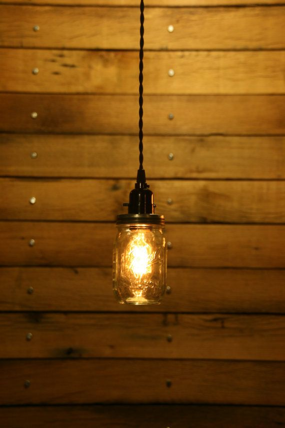 Best 25+ Mason jar pendant light ideas on Pinterest | Hanging kitchen lights Light fixtures for bathroom and Garden umbrella lighting & Best 25+ Mason jar pendant light ideas on Pinterest | Hanging ... azcodes.com