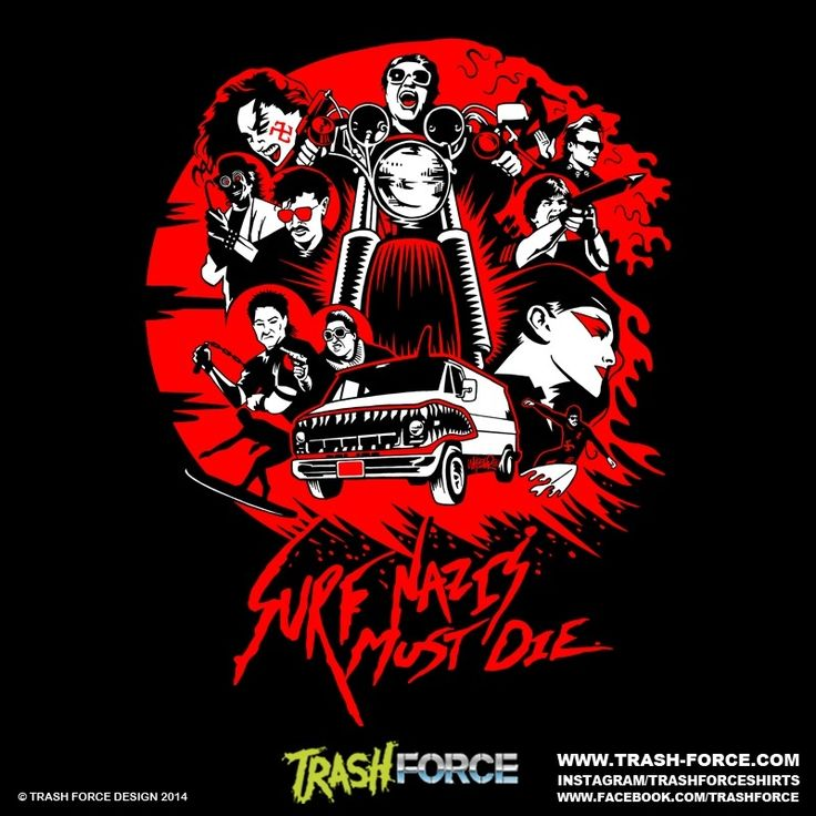 Pre Order The Official Surf Nazis Must Die Shirt Marco