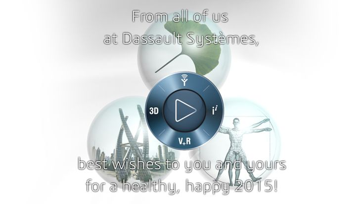 Send 3DS greeting cards - Dassault Systèmes