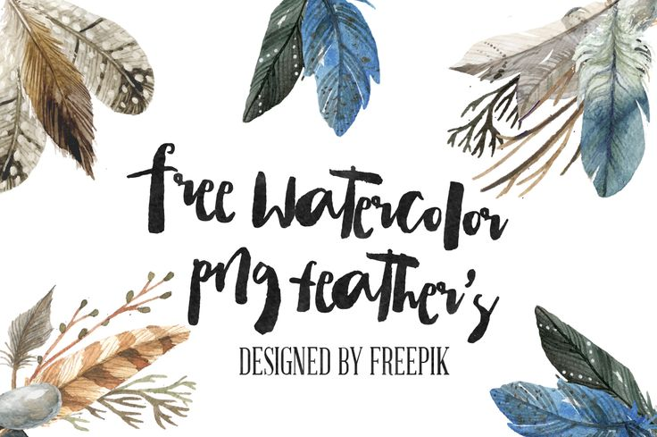DOWNLOAD   (I do not take any credit or claim for the watercolor feather's. For more Free Vectors, Icons and Photo's please visit  FREEPI...