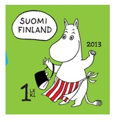 finnish stamps 2013