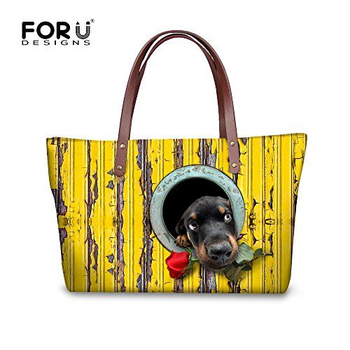 New Trending Tote Bags: FOR U DESIGNS Vintage Animals Dog Print Women Tote Shoulder Bags Casual Handbags. FOR U DESIGNS Vintage Animals Dog Print Women Tote Shoulder Bags Casual Handbags   Special Offer: $32.99      166 Reviews Welcome to FOR U DESIGNS!Recently,we launched Lunch Bags,Pencil Bags,Cosmetic Bags,Doormats.If you are interested in some products,welcome to visiting our shop.Your...
