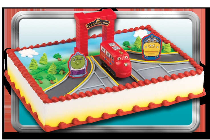 Short on time? Have your local bakery order a Chuggington cake kit from BakeryCrafts!
