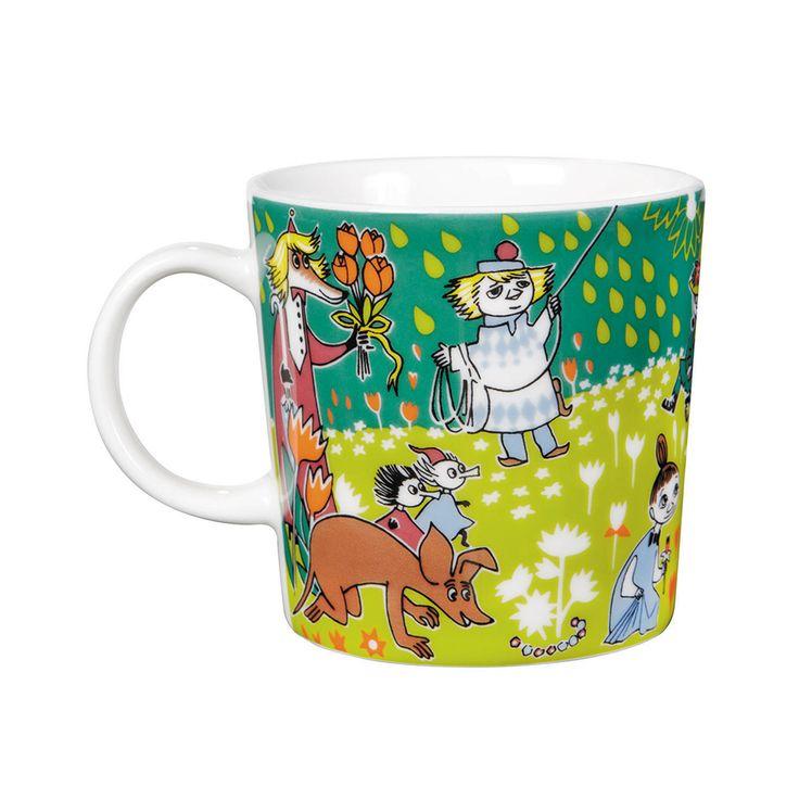 Moomin Mug Tove Jubilee 2014 - Tove Slotte-Elevant - Arabia - RoyalDesign.com