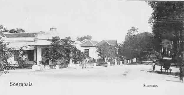 Daerah Simpang atau Jl. Pemuda 1901