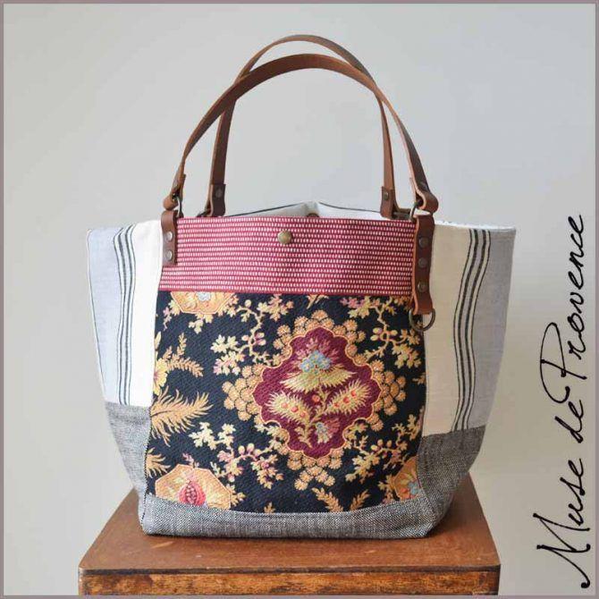sac cabas en fleurs phone