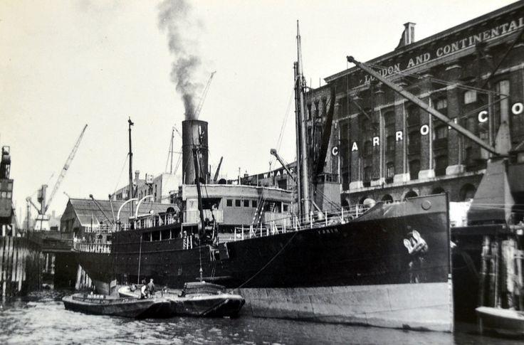 ships unloading London Docks - Google Search