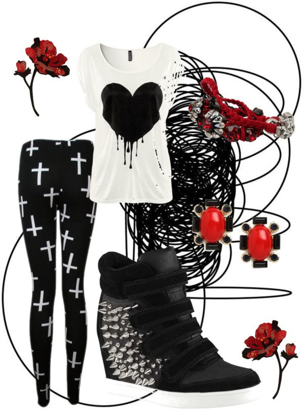 """Punk Princess"" by wasabisnooter on Polyvore. I don't like the shoes."