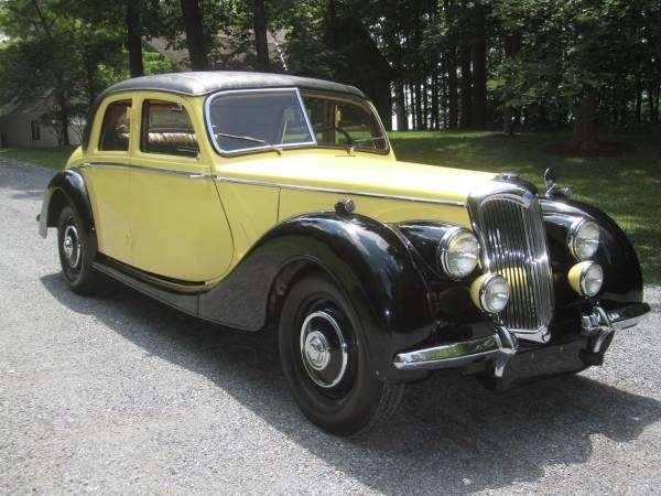1950 Riley RMB 2-1/2 litre Saloon ; one of the cars in which I learned to drive.
