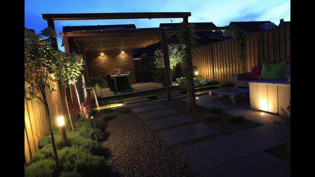 Een tuin met buitenverlichting ontwerpen: lichtplan, kabelplan, 3D visualisatie en realisatie on Vimeo